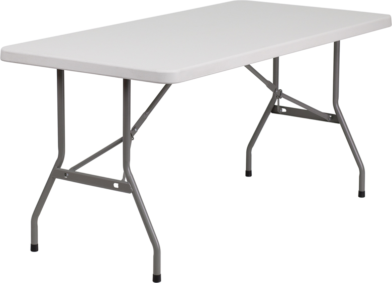 "#10 - 30"" X 60"" PLASTIC FOLDING TABLE"
