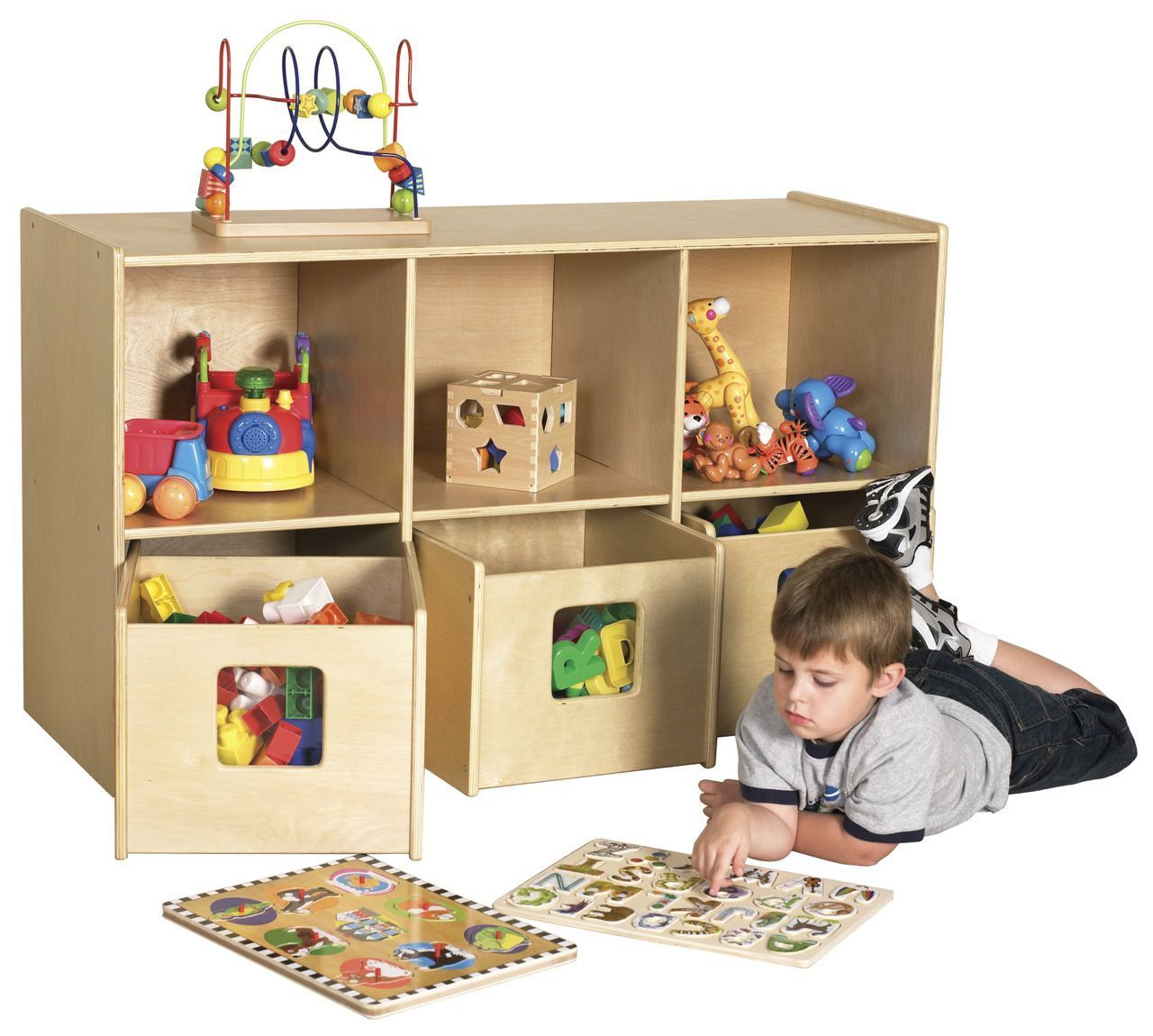 #25 - See & Store™ 6 Compartment Storage