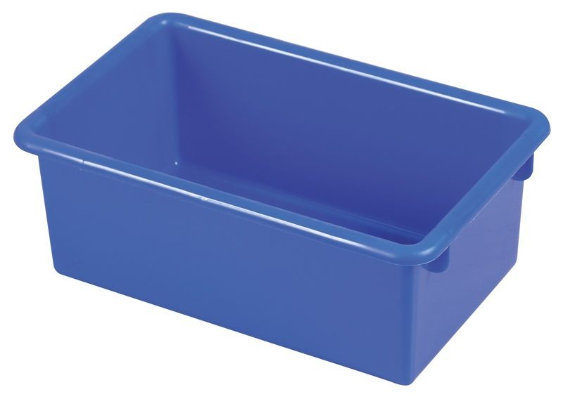 #66 - Heavy Duty Polypropylene Plastic Storage Tubs without Lids in Blue