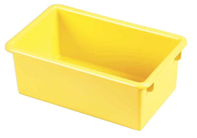 #67 - Heavy Duty Polypropylene Plastic Storage Tubs without Lids in Yellow