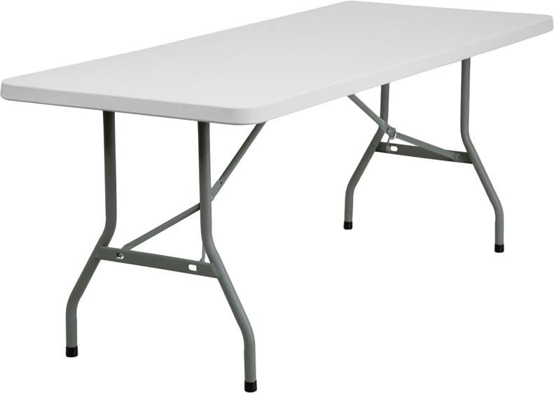 "#12 - 30"" X 72"" PLASTIC FOLDING TABLE"