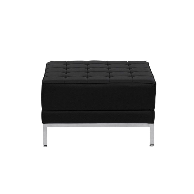 #128 - Imagination Series Leather Ottoman Chair