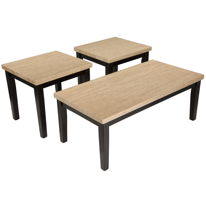 #14 - SIGNATURE DESIGN BY ASHLEY WILDER 3 PIECE OCCASIONAL TABLE SET