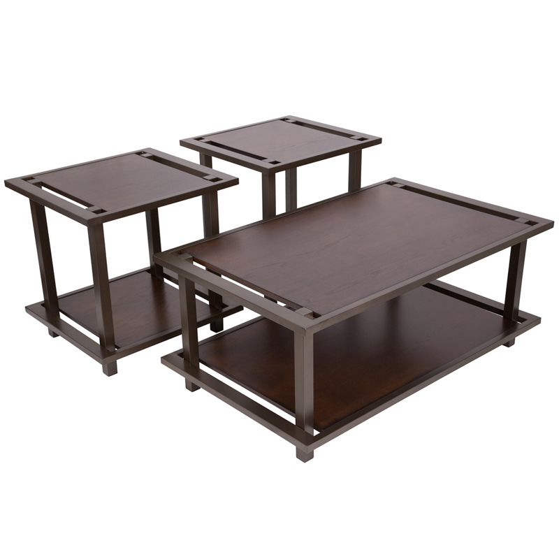 # - SIGNATURE DESIGN BY ASHLEY SHANKLIN 3 PIECE OCCASIONAL TABLE SET