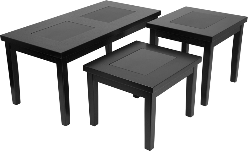 #17 - SIGNATURE DESIGN BY ASHLEY DENJA 3 PIECE OCCASIONAL TABLE SET