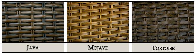 #104 - 6 Piece Outdoor Patio Furniture Mojave Resin Wicker Deep Seating Love Seat Set