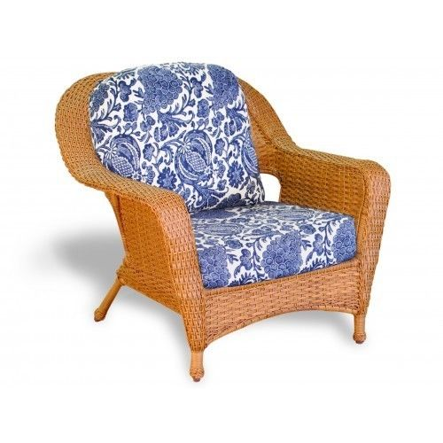 #154 - Outdoor Patio Garden Furniture Mojave Resin Wicker Club Chair